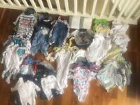 MASSIVE baby clothes bundle newborn-6 months