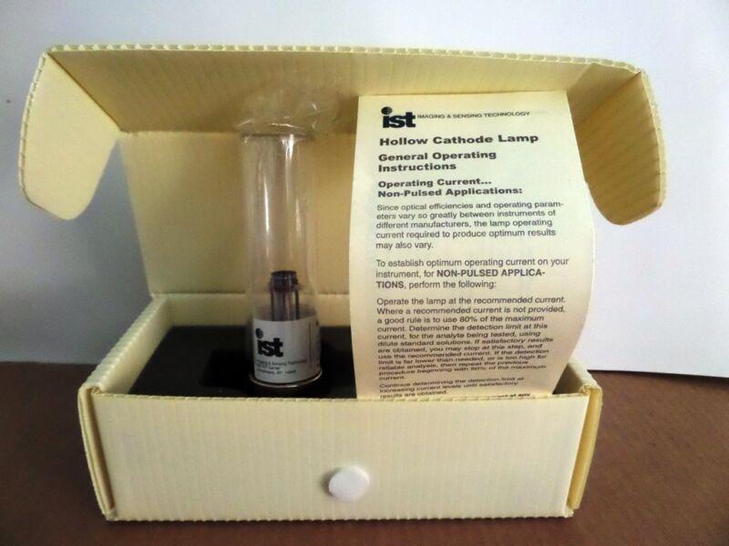 IST Hollow Cathode Lamp Model WL22603, New in Original Box (3046)