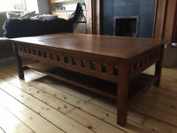 LARGE COLONIAL COFFEE TABLE