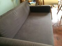 IKEA 2 seater sofa bed - used but in good condition. Collect only