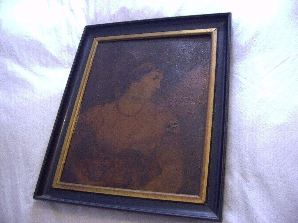 Painting. Vintage Retro. Framed. The Countess of Oxford. 45 x 37 x 3.5cm. John Hoppner R.A. Nice....