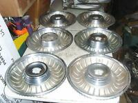1962 Caddy  wheel discs  set of 6