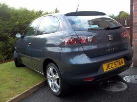 seat ibiza mot 03 17 ,new tyres for last mot,alloys, good condition ,clean car