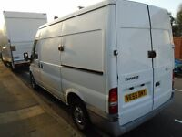 55 Reg Ford Transit van 280 MWB - runs but sold as spares and repairs due to underbody rust