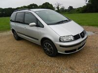 SEAT ALHAMBRA 130 TDI 6 SPEED , MOTED MAY 18 ,2004/04
