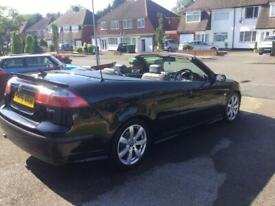 image for Saab 9-3 Aero Convertible 2.0t Full v5 FSH Just Been Fully Serviced VGC