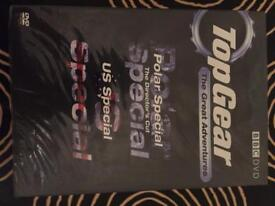 Top Gear Polar Special / US Special double DVD ( new )