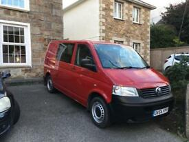Vw T5 Transporter combi/day van 6 seater.