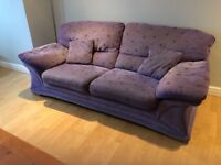 Lilac Sofa from DFS