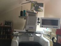 Brother PR 600 MK 11 Professional Embroidery Mac