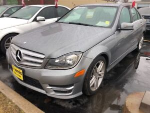 2013 Mercedes-Benz C-Class 300, Auto, Leather, Sunroof, AWD