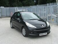 """PEUGEOT 207 """"S"""" HDi 1.4Ltr Diesel MOT JULY 2019 with S/History"""