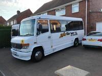 Mercedes vario 814d 24 seat minibus midibus coach bus or camper van conversion