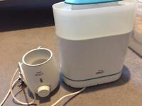 Avent sterilizer and bottle warmer