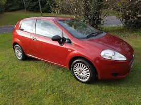 2008 (57) PLATE FIAT GRAND PUNTO 1.2 ACTIVE 3DR MOT JUNE 2017 LADY OWNER PART HISTORY GREAT CAR PX