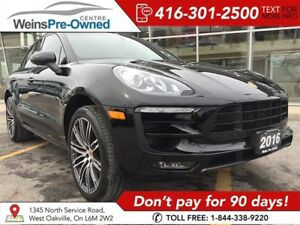 2016 Porsche Macan S | LOW KM'S| 21 TURBO WHEELS| NAVI| CAMERA