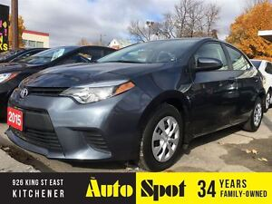 2015 Toyota Corolla CE/MASSIVE INVENTORY CLEAROUT!/PRICED FOR A  Kitchener / Waterloo Kitchener Area image 1
