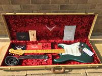 Fender Stratocaster Custom Shop NOS 2017 Rare Sherwood Green
