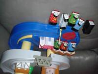 Thomas the tank engine play set. very much loved but out grown 0