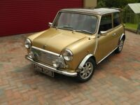 Classic Austin Mini tax exempt cheap insurance.