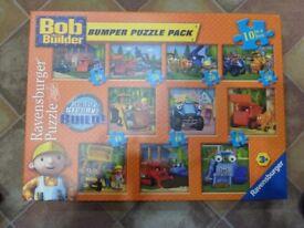 Bob the Builder bumper puzzle pack
