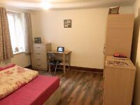 Nice double room -for single use- to rent in Leyton, all bills included, free wifi, ID:495