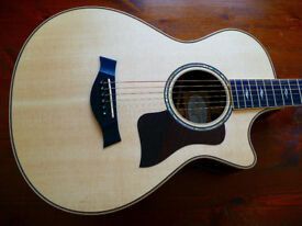 Taylor 812ce 12-Fret Grand Concert Acoustic Guitar with ES2 Electronics