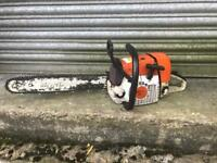 Stihl ms341 chainsaw