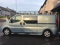 Renault trafic sport limited edition 115 dci crew cab