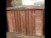 5x3 garden tidy shed