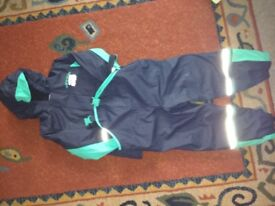 age 4-5 years waterproof trousers and jacket
