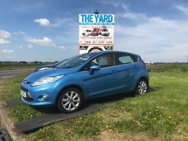 *** 2009 FORD FIESTA 1.4 BLUE 5 DOOR FINANCE AVAILABLE £20 A YEAR ROAD TAX ***