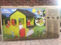 Smoby Large Neo Floralie Playhouse