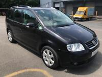 STUNNING 7 SEATER VW TOURAN 2.0TDI AUTO,1 OWNER CAR,DRIVES LIKE NEW,FULL HISTORY,EXCELLENT CONDITION
