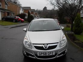 low mileage 1 owner cheap tax and insurance vauxhall corsa 1.3 cdti 5 door 1.2 diesel 60 mpg