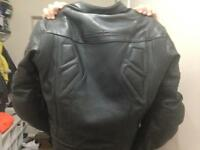 Bike leathers - jacket & or gloves
