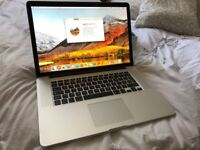 MACBOOK PRO RETINA 15 QUAD CORE i7 3.2GHZ SSD SIERRA SIRI BLUTOOTH WEBCAM OFFICE USB 3/HDMI BOXED