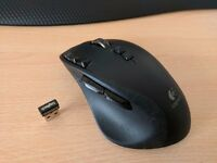 Logitech G700 Wired/Wireless Mouse