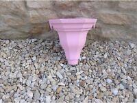 Pink Cast Iron Hopper