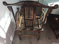 Asian themed chair