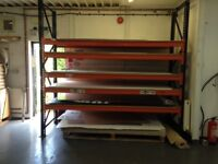 Heavy duty industrial racking