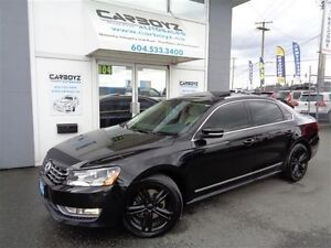 2012 Volkswagen Passat 2.5L Highline, Nav, Sunroof, Blacked Out