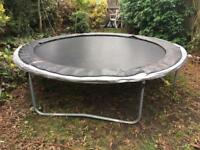 8ft Trampoline - 1 year old - complete with original box and instructions