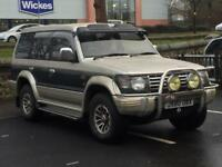 MISTUBUSHI PAJERO 2.5 DIESEL*£999*7 SEATER*AUTOMATIC*LEATHER INTERIOR*LOW MILES*PX WELCOME*DELIVERY