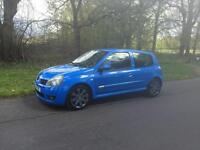 Renault Clio Cup 182 2005 Racing Blue 72,000 miles £2800ovno