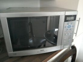 SANYO Microwave Fan assisted Oven 1200W super showerwave 900w