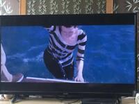 55 inch hitachi tv