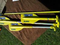 "Lot#82-1pr-Telescopic paddles 22""-42""/56cm-106cm Brand New"