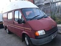 1987 Ford Transit Petrol 2.0 smiley face - private plate - camper project or export - swap px