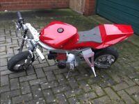 midi mini moto its fully automatic